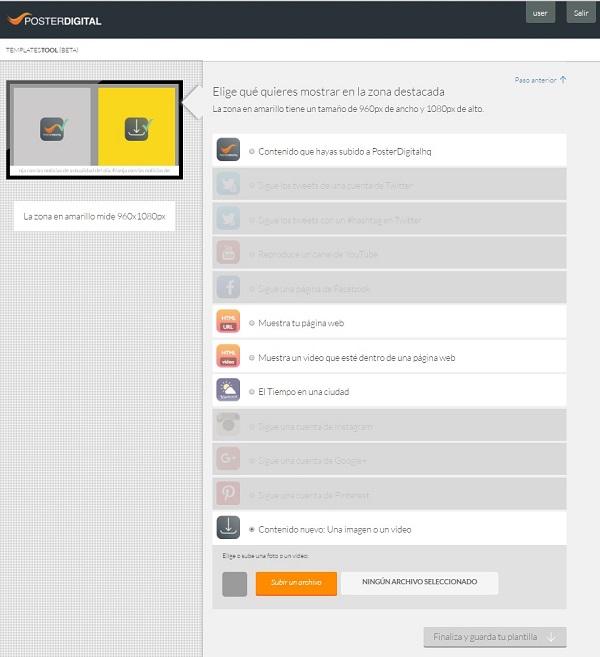 Cómo usar la herramienta Template Tool