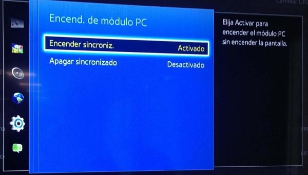 Configuración recomendada en los monitores Samsung SoC