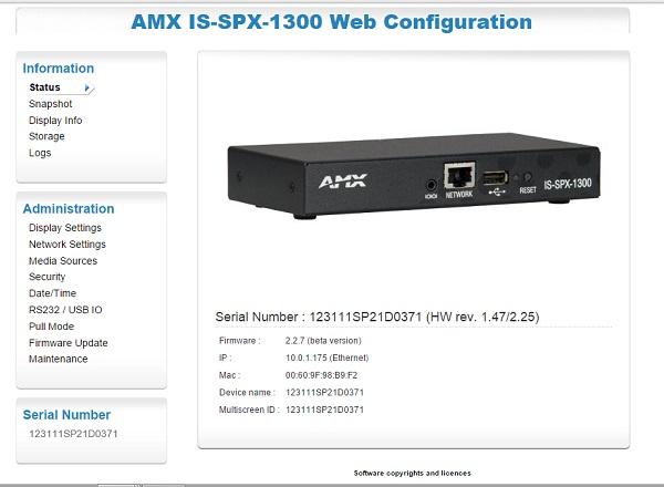 Cómo instalar un reproductor AMX en PosterDigital