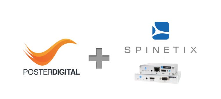 Spinetix cartelería digital signage PosterDigital