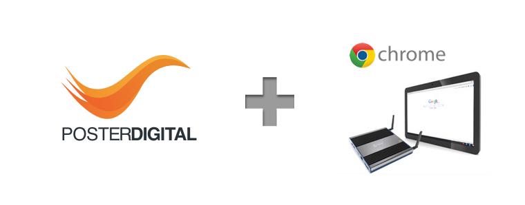 Chromebox cartelería digital signage PosterDigital