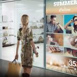 Cartelería digital signage tiendas